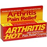 Arthritis Hot Pain Relief Creme 3 oz (Pack of 5)