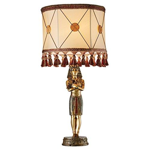 (Design Toscano King Tutankhamen Sculptural Table Lamp, Full Color)
