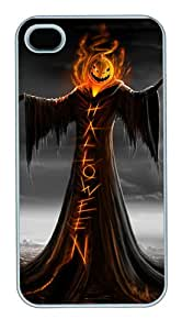Halloween PC Case Cover for iPhone 4S and iPhone 4 White