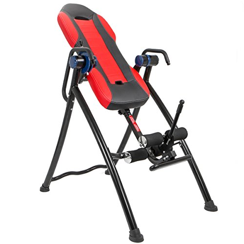 Xtremepowerus gravity inversion therapy table fitness back for 1201 back therapy inversion table