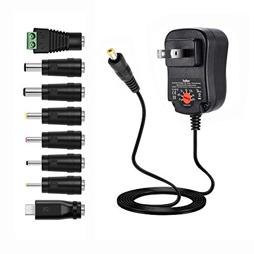 universal ac adapter 1a - 8