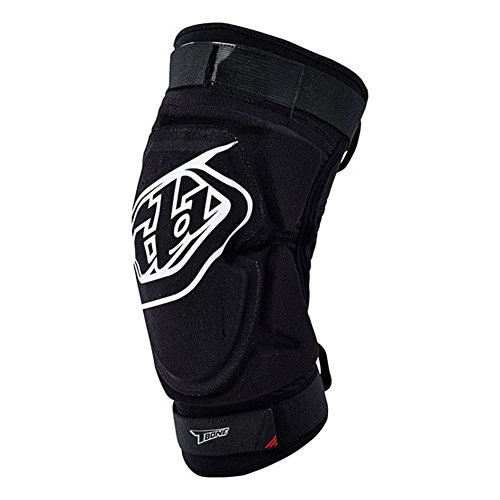 Troy Lee Designs T-Bone Knee Guard Solid Black, M/L