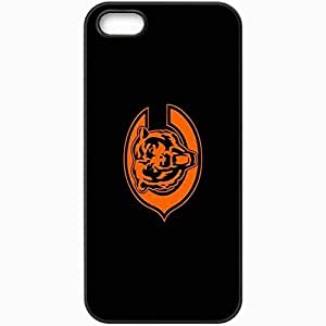 Personalized iPhone 5 5S Cell phone Case/Cover Skin 1236 chicago bears Black