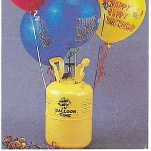 Giant Party Store Disposable Helium Tank ()