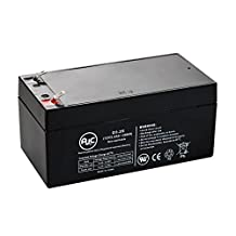 B&B BP3-12-F2 Sealed Lead Acid - AGM - VRLA Battery - This is an AJC Brand® Replacement