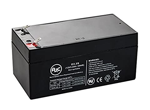 APC Back-UPS ES 350 VA USB Support 12V 3.2Ah UPS Battery - This is an AJC Brand Replacement (Ups Battery Apc 350)