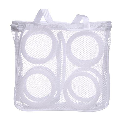 3D Storage Organizer Bag Mesh Laundry Shoes Bags Dry Shoe Organizer Portable Washing bags home slippers