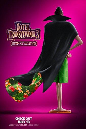 HOTEL TRANSYLVANIA 3: SUMMER VACATION (2018) Original Authentic Movie Poster 27x40 - DS - Adam Sandler - Andy Samberg - Selena Gomez