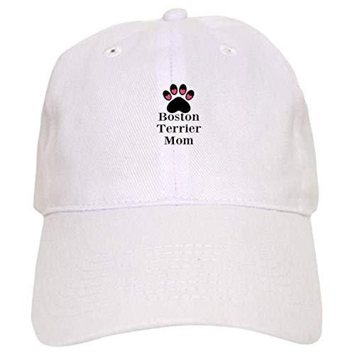 LUDEM Boston Terrier Mom Baseball Baseball ()