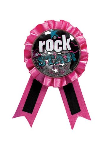 Amscan International Confetti Award Ribbon Rocker ()