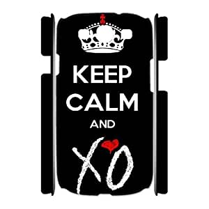 HXYHTY The Weeknd XO Customized Hard 3D Case For Samsung Galaxy S3 I9300