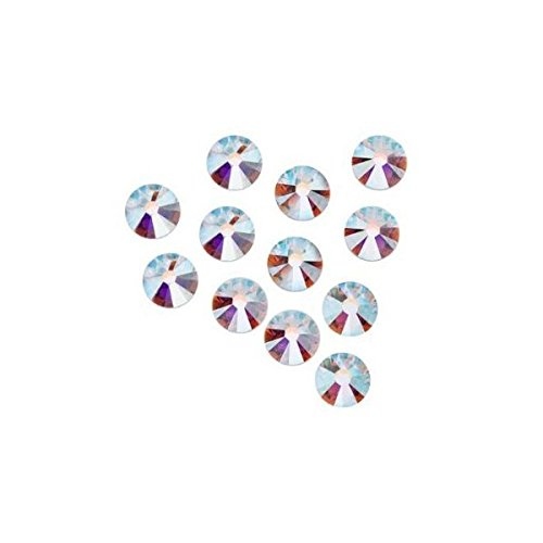 20ss Crystal Ab Swarovski Rhinestones - Crystal AB Rhinestones Flatback 144 SWAROVSKI #2088 4.8mm 20ss ss20