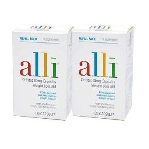 Alli Orlistat Formule-Aid Weightloss, 240ct Recharge