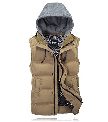 cotone Inverno con con maniche in con cappuccio sportivo cappuccio cappuccio senza 8r7Eqr