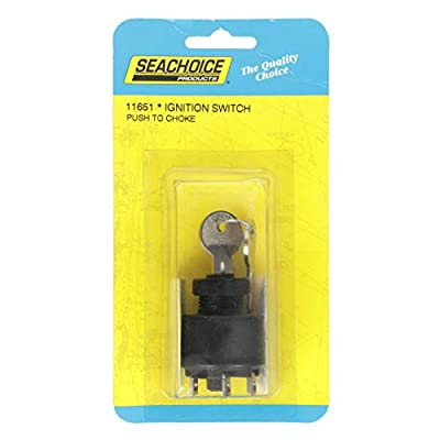 SEACHOICE 11651 Johnson/Evinrude Ignition Starter Switch: Sports & Outdoors