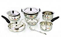 Pigeon Cookware Set, 10-Pieces