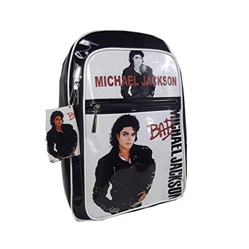 Michael Jackson BAD notebook Backpack PVC BAG Messenger BAG (Michael Jackson Backpack)