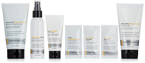 MenScience Androceuticals Men s Scrub, Shave and Soothe Kit