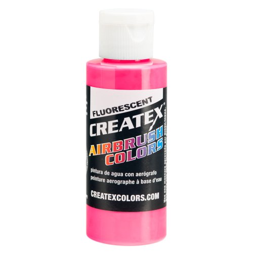 1 Gal. of Createx Fluorescent Hot Pink #5407-GL CREATEX AIRBRUSH COLORS Hobby Craft Art PAINT by Createx