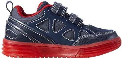 Geox J Argonat C, Zapatillas para Niños Azul (Navy/redc0735)