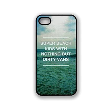 Amazon.com: Super Beach Kids Hipster Quote iphone 5 Case ...