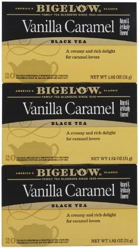 (Bigelow Vanilla Caramel Tea Bags - 20 ct - 3 pk)