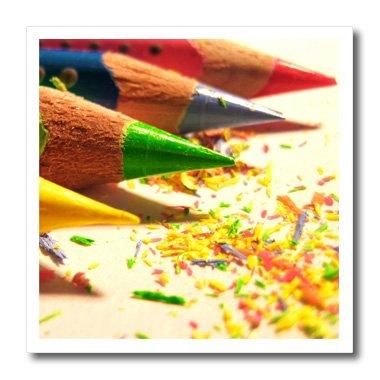 3dRose ht 23423 1 Colored Pencils Transfer