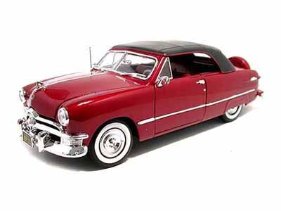 1950 Ford Convertible Top Up 1/18 ROT