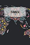 Tuvalu: Ruled Travel Diary Notebook or Journey  Journal - Lined Trip Pocketbook for Men and Women with Lines