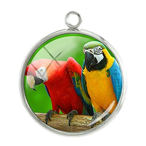 Pendants -1Pc Birds Seris Pictures Pendants Charms Personalized Photos Handmade 20mm Glass cabochon Dome Classic Jewelry -08