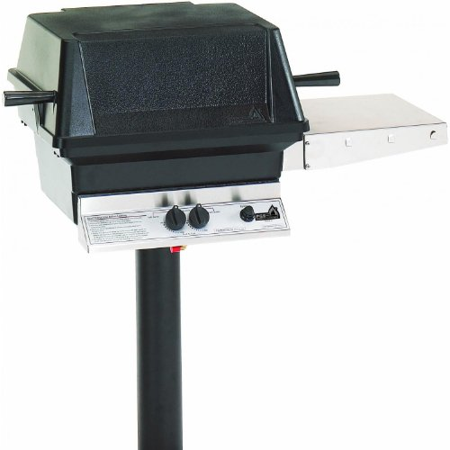 Pgs A30 Cast Aluminum Natural Gas Grill On In-ground Post ()
