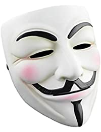 K.N. Guy Fawkes Mask V for Vendetta Anonymous christmas Party Cosplay Costume
