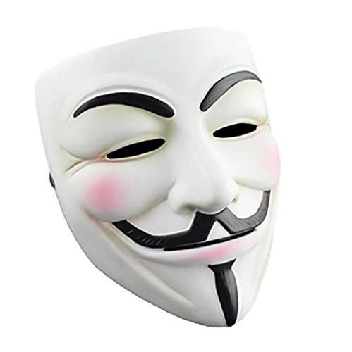 K.N. Guy Fawkes Mask V for Vendetta Anonymous