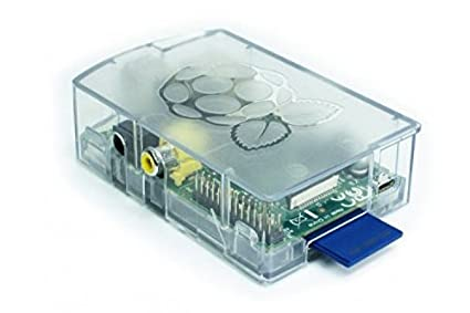 Clear Protective Case for Raspberry Pi A & B ASM1900004_01