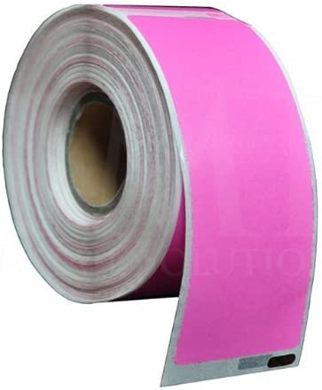 1 x Dymo //Seiko Compatible 99010 Pink Label 28mm x 89mm Labelwriter450 Turbo