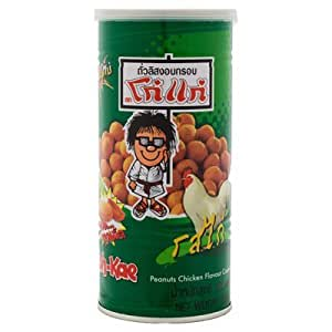 Koh Kae Roasted Peanuts Chicken Flavor Coated 1 Can X 230 G