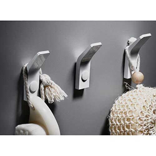 Door Wall Hook Hanger For  Hat Coat Robe Bathroom Space Aluminum JP