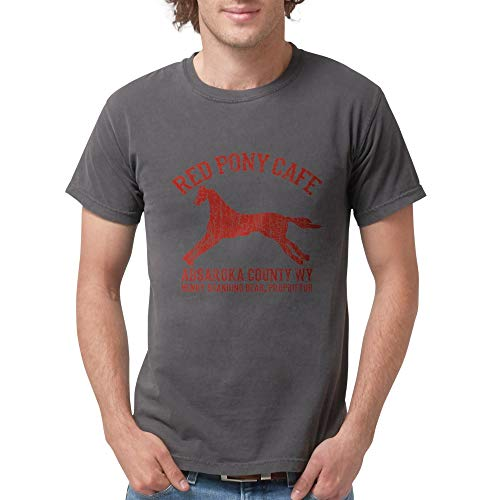 CafePress Longmire Red Pony T Shirt Mens Comfort Colors Shirt