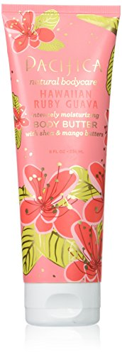 Pacifica Beauty Hawaiian Ruby Body Butter Tube, Guava, 8 Fluid Ounce -