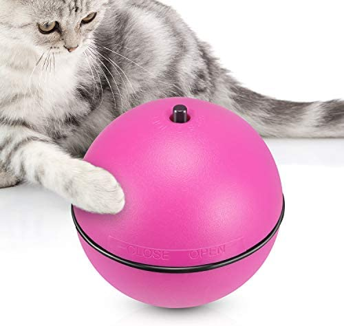 WINGPET Interactive Cat Toy, Electronic Cat Ball Toy with Auto Rolling Randomly, Funny Cat Toys for Kitten Training, Kitten Exercise Tease Toy… 3