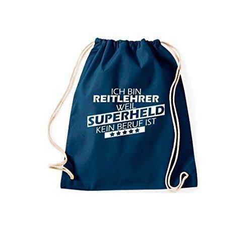 Shirtstown - Bolso de tela para mujer azul