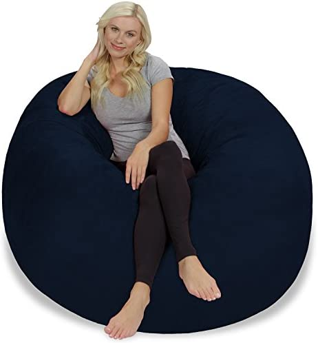 home, kitchen, furniture, game, recreation room furniture,  bean bags 9 picture Chill Sack Bean Bag Chair: Giant 5' Memory promotion