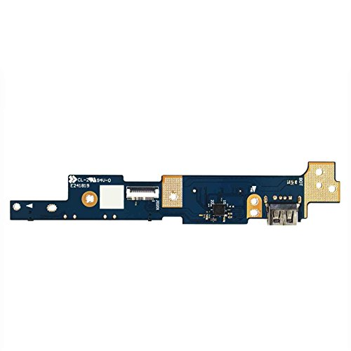 GinTai Power Switch Button IO USB SD Card Board for ASUS Q302 Q302L Q302LA Q302U Q302UA TP300 TP300L TP300LA TP300LD by GinTai