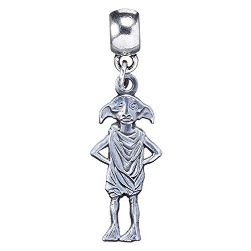 Harry Potter Silver Plated Dobby the House Elf Slider Bracelet Charm