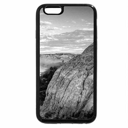 iPhone 6S Case, iPhone 6 Case (Black & White) - LITTLE MISSOURI RIVER