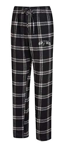 (Concepts Sport San Antonio Spurs Men's Pajama Pants Plaid Pajama Bottoms (Large))