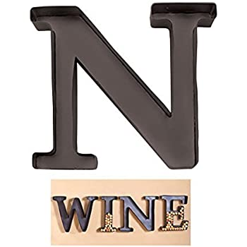 metal letter holder personalized letter quot m quot metal wall wine cork 23620 | 41 YXO6jWSL. SL500 AC SS350