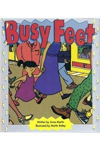Busy Feet (Literacy Tree Sound Sense Fold-Out, Let's Get Together)
