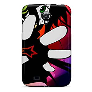 Galaxy S4 Case Cover With Shock Absorbent Protective GcM8069YXAn Case