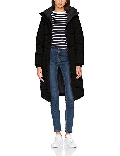 Brandit Sina Long, Abrigo para Mujer Negro (Black 2)